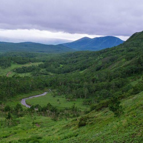 дорога к кратеру Вачкажец