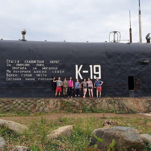 подводная лодка к19